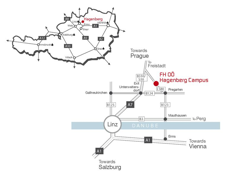 Getting to hagenberg hagenberg campus fh ooe for details on these services please check out httplinz airport enapproach and parking ccuart Image collections