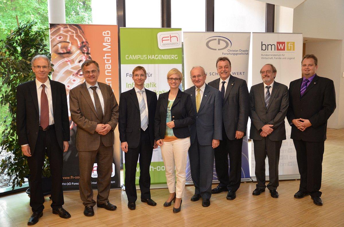 FH OÖ stellt neues Josef Ressel Zentrum in Hagenberg vor