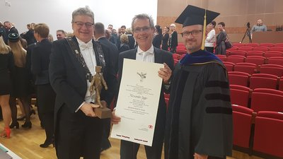 Professor Alexander Jäger Receives Title of Honorary Doctor