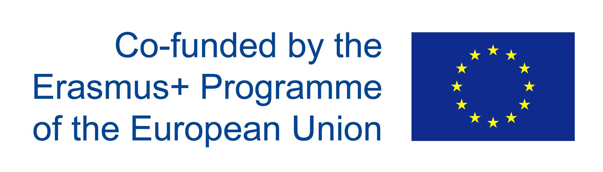 Znalezione obrazy dla zapytania: logo erasmus plus co funded by